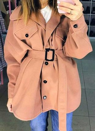 Пальто-рубашка 💛