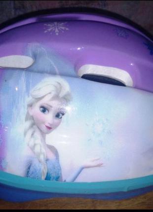 Велошлем для девочки disney frozen