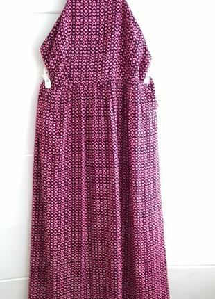 Стильное платье-сарафан next на бретелях