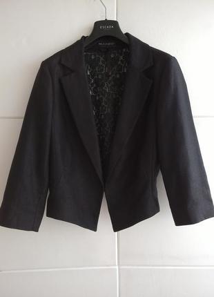Элегантный жакет marks&spencer черного цвета