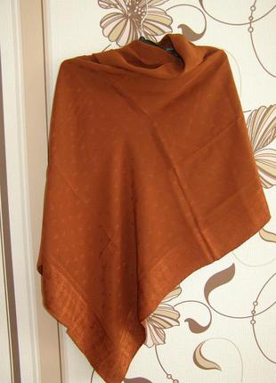 Эксклюзивный шелковый платок от бренда emilio carducci.италия