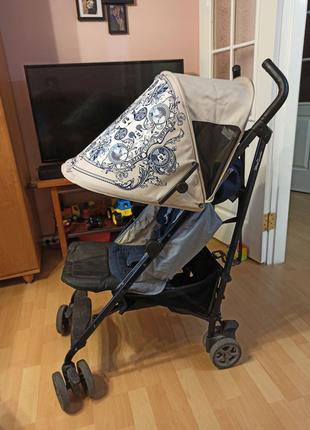 Детская прогулочная коляска Easy Walker XS (Mickey Ornament)