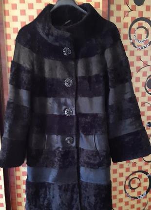 Обалденное пальто из нерпы