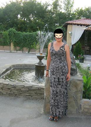 Красивое платье сарафан, на высокую девушку