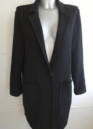 Кардиган, лёгкое пальто с накладными карманами