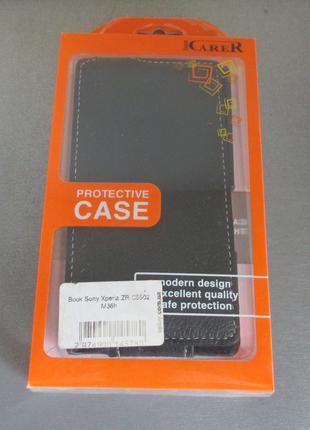 Чехол флип iCARER для Sony Xperia ZR c5502 M36h