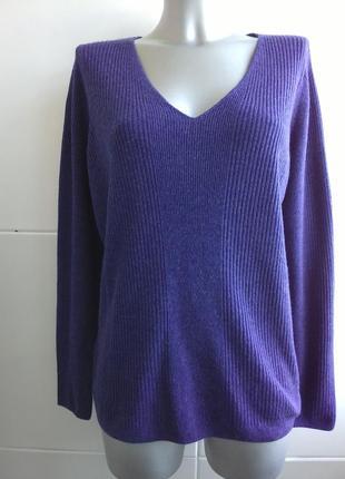 Красивый пуловер marks&spenser большой размер 18/xxxl