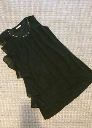 Красивое платье с воланом