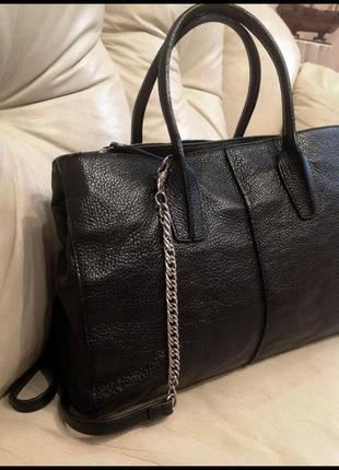 Vip красивая кожаная сумка - 100% натуральная мясистая кожа – ...