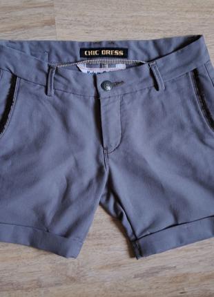 Демисезонные шорты для девочки подростка Chic Dress