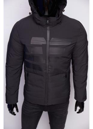 Куртка мужская демисезонная Armani 699 в стиле бренда черная