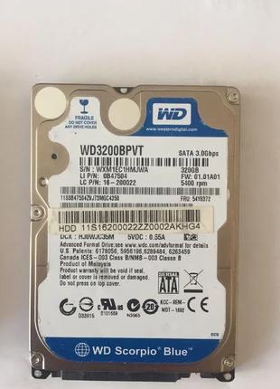 "Жесткий диск HDD 320Gb SATA 2.5"" для ноутбука"