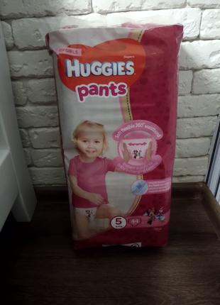 Детские подгузники Huggies