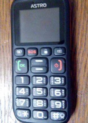 Не рабочий! Мобильный телефон Astro B181 Black Orange