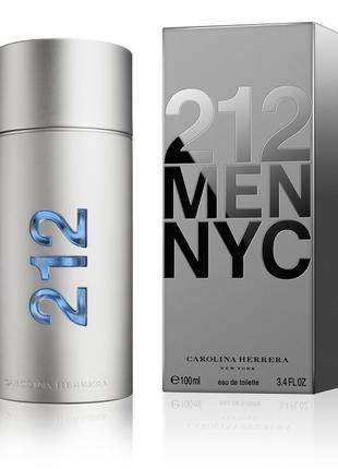 Carolina Herrera 212 men_Оригинал Eau de Toilette 5 мл_затест