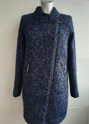 Очень стильное пальто с молниями  marks&spencer