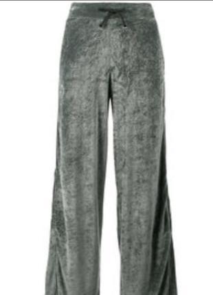Домашние штаны из бархата плюша