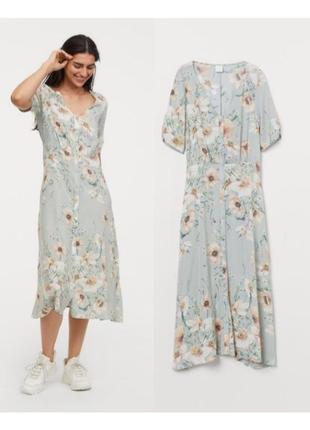 Платье миди из вискозы sale
