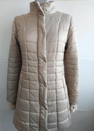 Стильное демисезонное стеганое пальто куртка hobbs