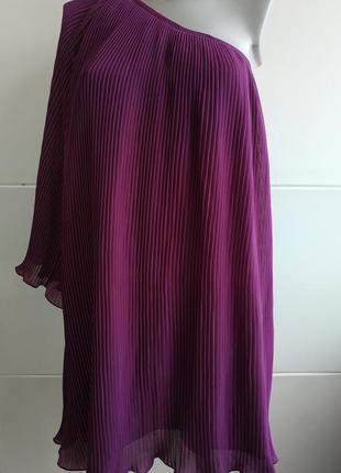 Очень красивое и оригинальное платье next фиолетового цвета