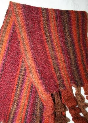 Женский шарф теплый
