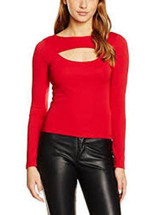 Трендовая кофточка блуза с открытым вырезом декольте