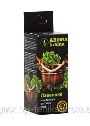 Смесь эфирных масел Банька 10мл. Aroma Kraina