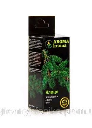 Эфирное пихтовое масло 10мл. Aroma Kraina