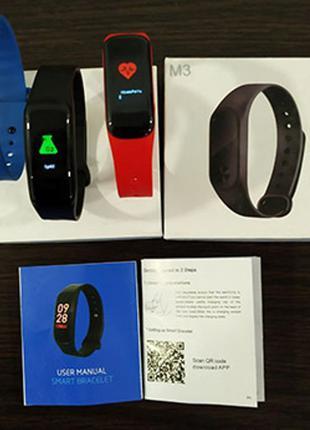 Фитнес браслет Xiaomi Mi Band3, часы