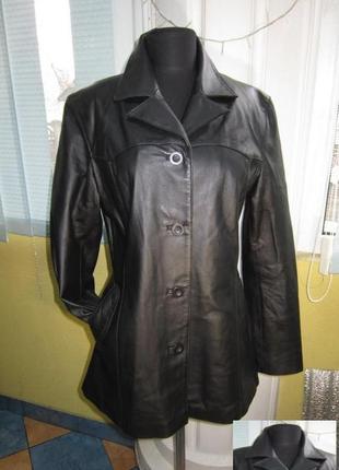 Оригинальная женская кожаная куртка echtes leder. германия. ло...