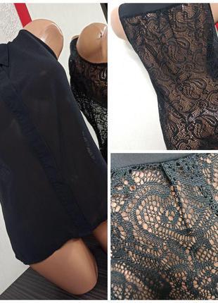 #розвантажуюсь ❤️ блуза блузка безрукавка с кружевной спинкой/...