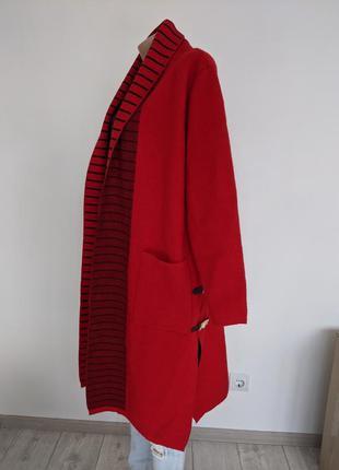 🔥🔥🔥 пальто кадиган шерстяное красное оригинальное