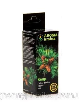 Эфирное масло кедра 10мл. Aroma Kraina