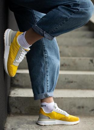 Adidas zx 500🔺унисекс  кроссовки  адидас желтые