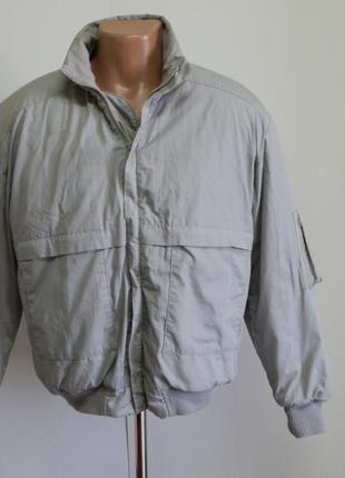 Мужская куртка на манжете размер 48