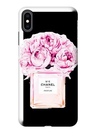 Чехол «Chanel» для Iphone XS Max Силиконовый
