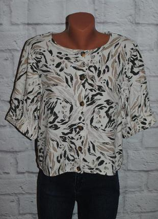 "Блуза с объемными рукавами ""m&s collection"""