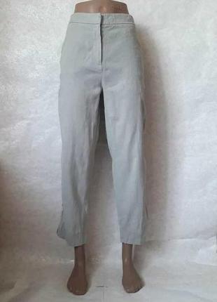 Новые лёгкие летние кюлоты/брюки/штаны с лампасами в составе р...