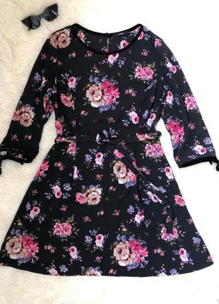 Красивое платье в цветочный принт george
