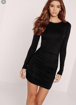 Шикарное маленькое чёрное платье  missguided