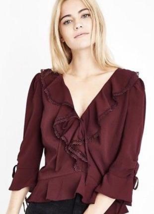 Красивая блуза новая с бирками new look  размер 52