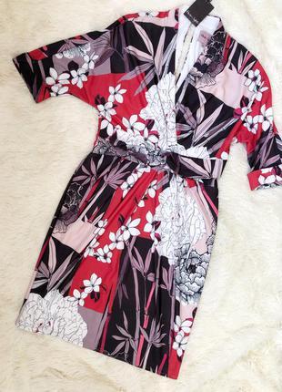 Новое с биркой миди платье-футляр на запах phase eight размер 50