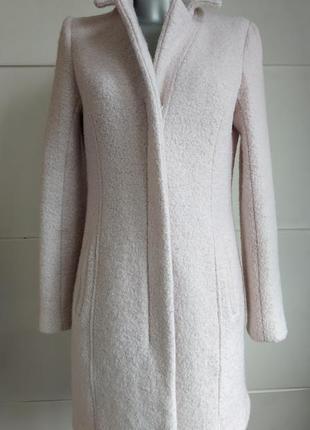 Пальто new look в пастельных розовых тона