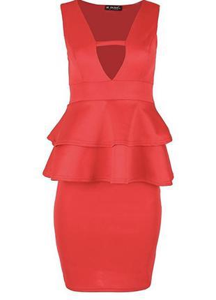 Новое с биркой красное платье be jealous размер 54
