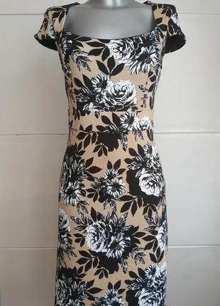 Платье с оригинальным принтом от laura asley