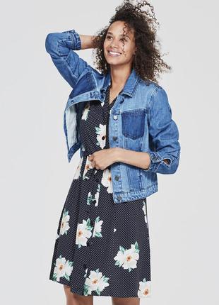 Красивое платье-рубашка миди tu в винтажном стиле размер 14, 5...