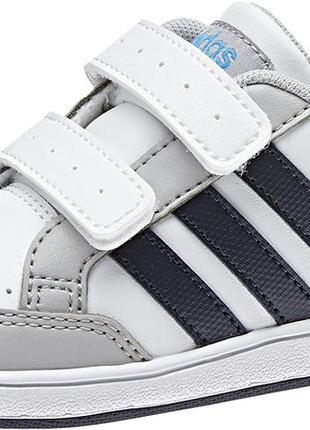 Adidas hoops cmf inf boys velcro aq1659 кроссовки кеды 15.5 см