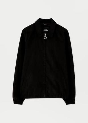 Стильные мужские легкие куртки pull&bear испания