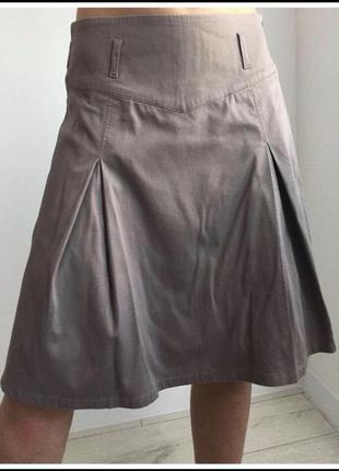 Юбка, спідниця, юбка миди, бежевая юбка.