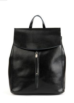 Рюкзак кожаный женский жіночий портфель шкіряний